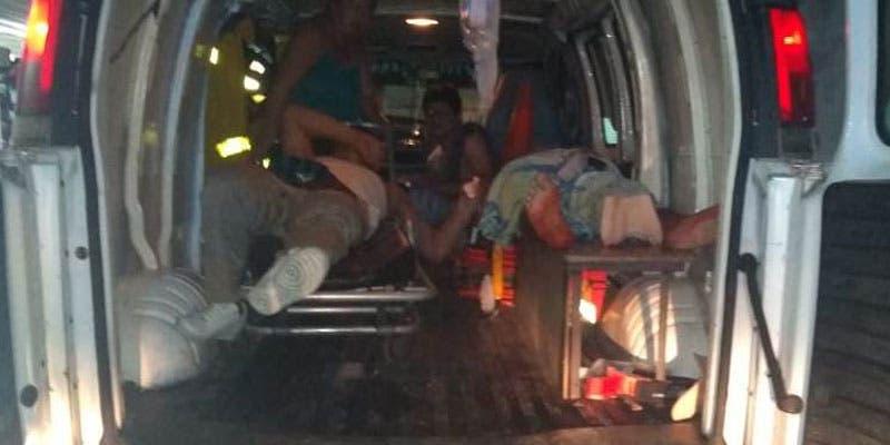 Tres lesionados a balazos en la alcaldía Ignacio Zaragoza.