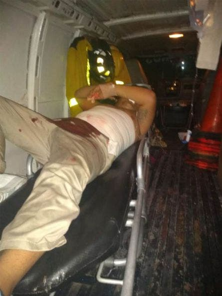 Tres lesionados a balazos en la alcaldía Ignacio Zaragoza; al parecer se trató de un ataque directo relacionado con la venta de drogas en esa localidad.