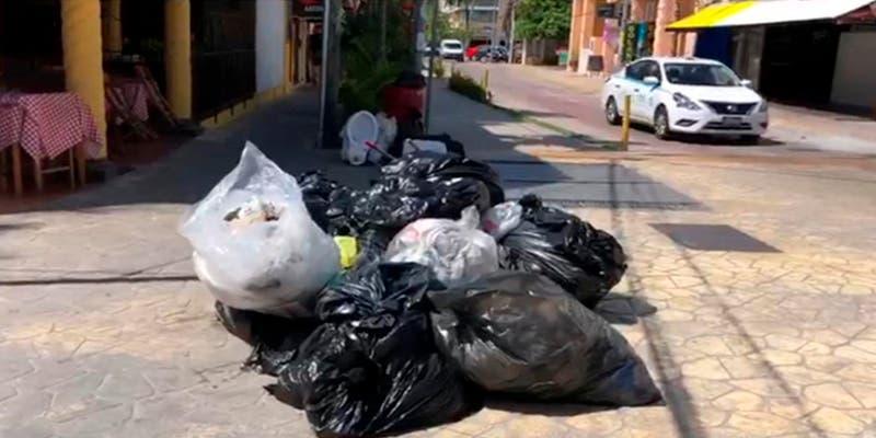 Ayuntamiento de Solidaridad no puede recolectar la basura en tres zonas