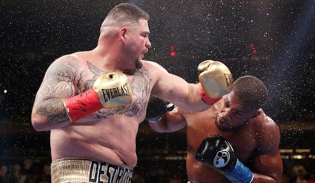 """El """"mejor"""" boxeador del planeta: Andy Ruiz Jr"""