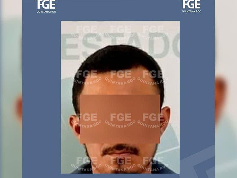 """Ignacio """"N"""" quedó a disposición a la Fiscalía Especializada en Delitos Contra la Salud, en su modalidad de narcomenudeo."""