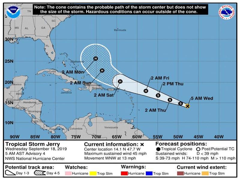 Clima: Se prevén chubascos para Quintana Roo; sistema de alta presión en el Golfo de México estará provocando altas temperaturas para la Península.