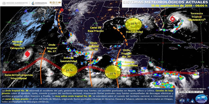 Clima: Se pronostican lluvias aisladas para Quintana Roo.