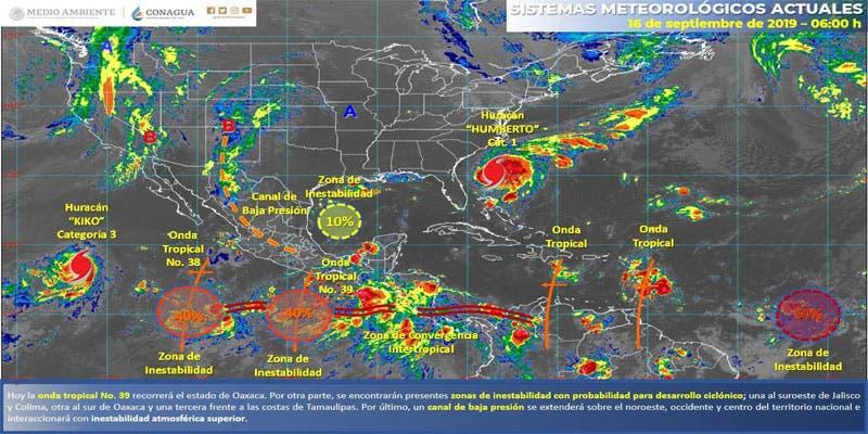 Clima: Probabilidad de lluvias aisladas para Quintana Roo.