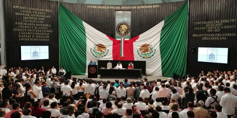 Integración de la XVI Legislatura del Congreso de Quintana Roo.