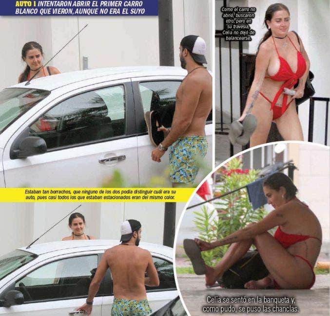 Detención de Celia Lora en Playa del Carmen