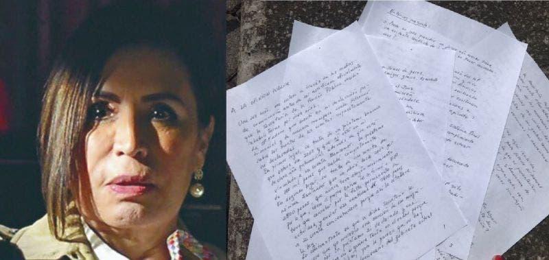 Rosario Robles pregunta a AMLO: ¿Por qué tanta saña?