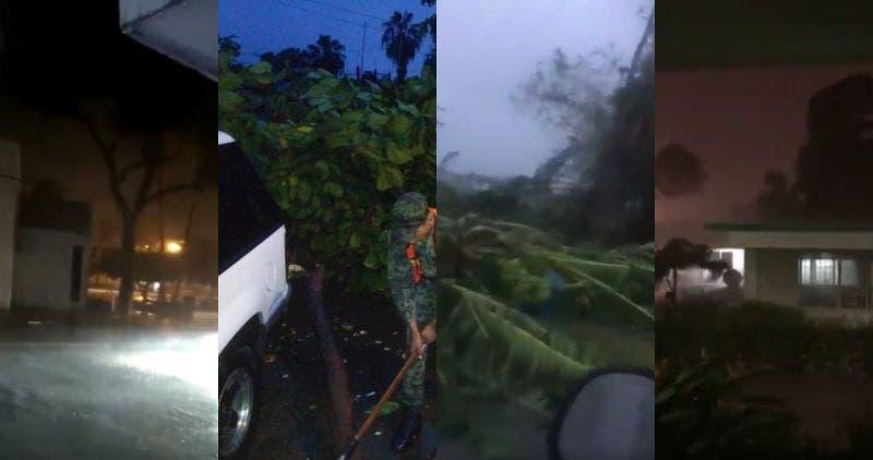"""""""Huellas de Lorena"""": deslaves, caída de árboles e inundaciones"""