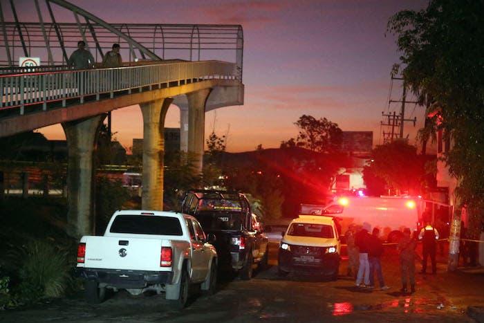 La matanza fue cerca del paso Express, en Cuernavaca, Morelos.
