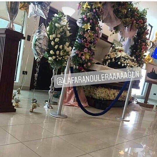 "Funeral de Claudia Ochoa Félix, ""La Emperatriz de los Ántrax""."