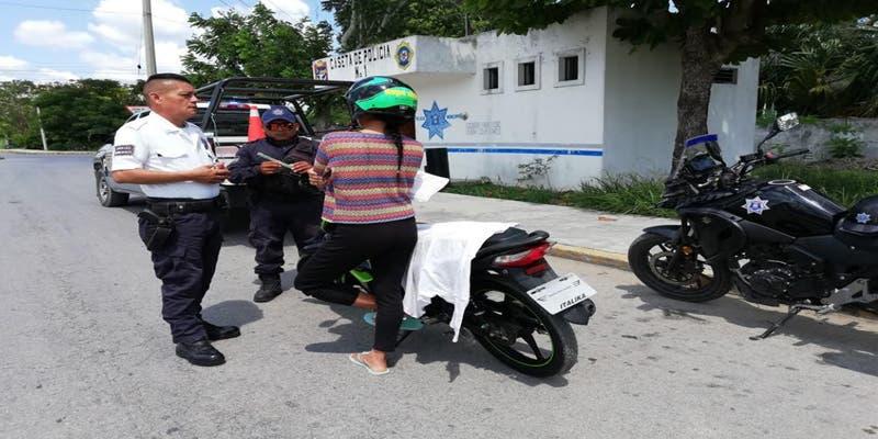 Dirección de Tránsito prevé realizar múltiples filtros en Felipe Carrillo