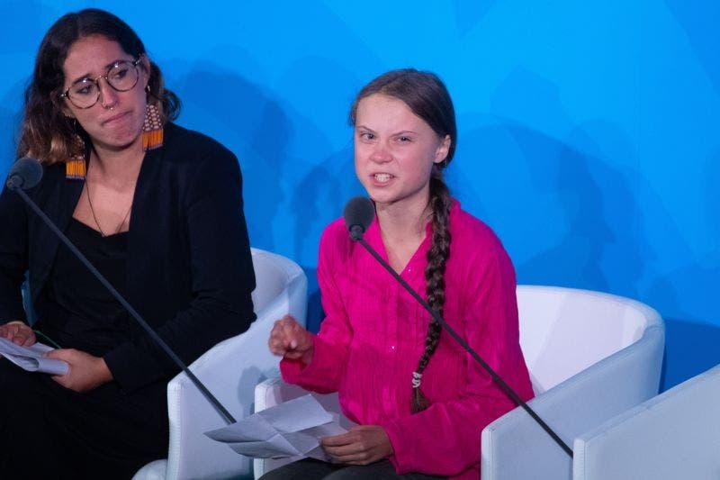 """""""El cambio viene, les guste o no"""": Greta Thunberg"""