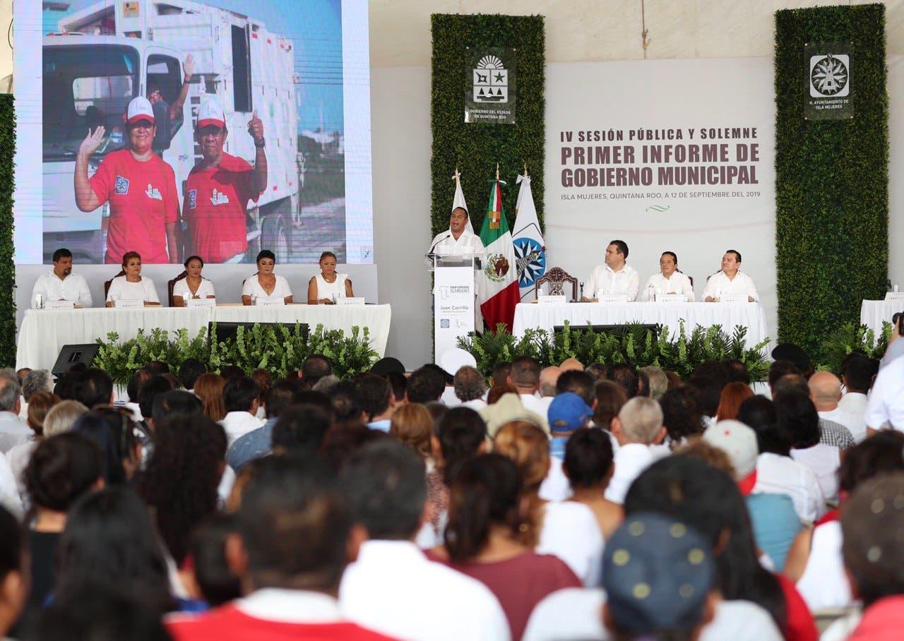 Carrillo Soberanis destacó la voluntad política del gobernador Carlos Joaquín