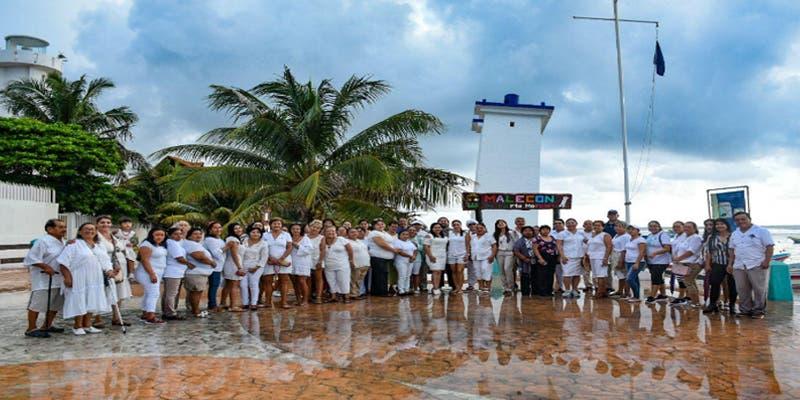 Se suma Puerto Morelos a la conmemoración del Día Internacional de la Paz