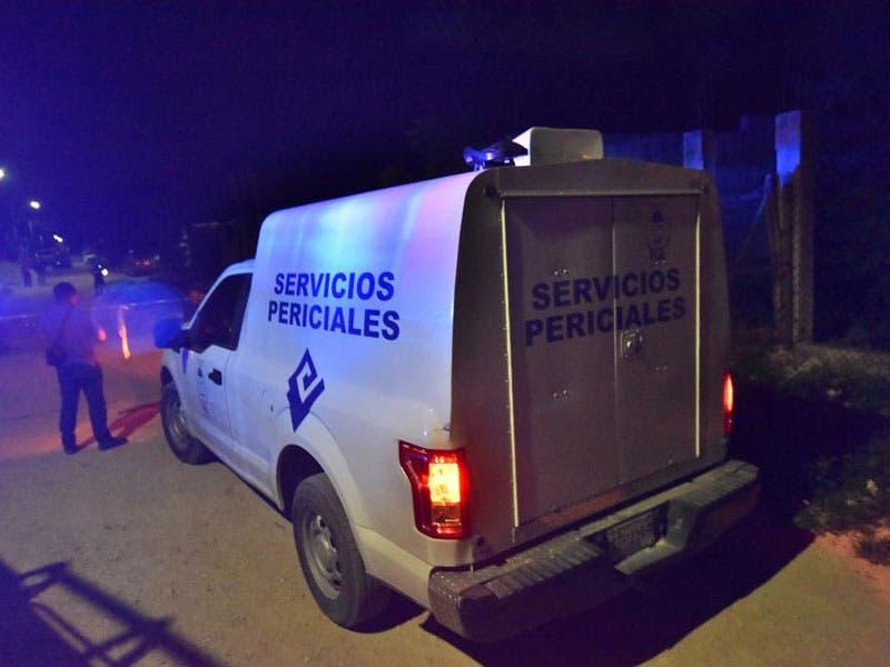 Hicieron presencia policías ministeriales y agentes periciales, así como también personal de la Fiscalía General del Estado.