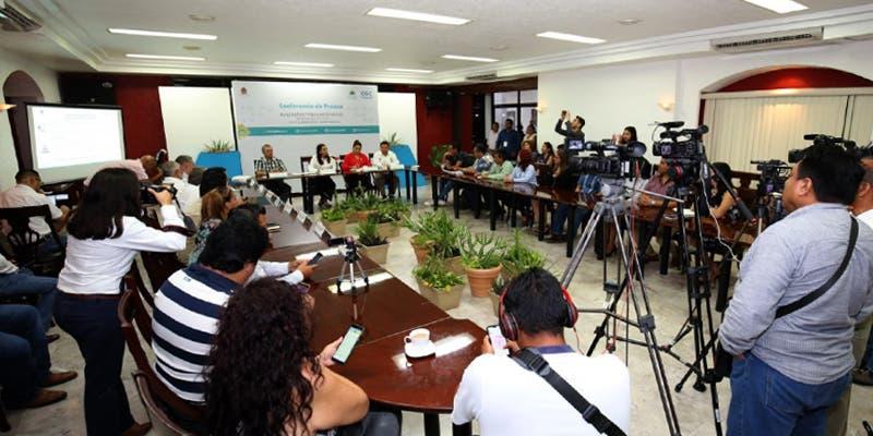 """Titular de la Secretaría de Educación participó en la conferencia de prensa """"El Informe a detalle"""""""