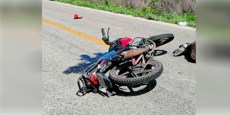 Fallece motociclista en el tramo carretero Felipe- Chunhuas
