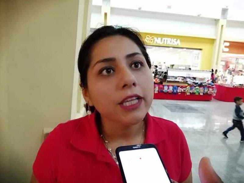 Jenni Juárez Trujillo, comisionada sindical de la Confederación Revolucionaria de Obreros y Campesinos (CROC) en Quintana Roo.