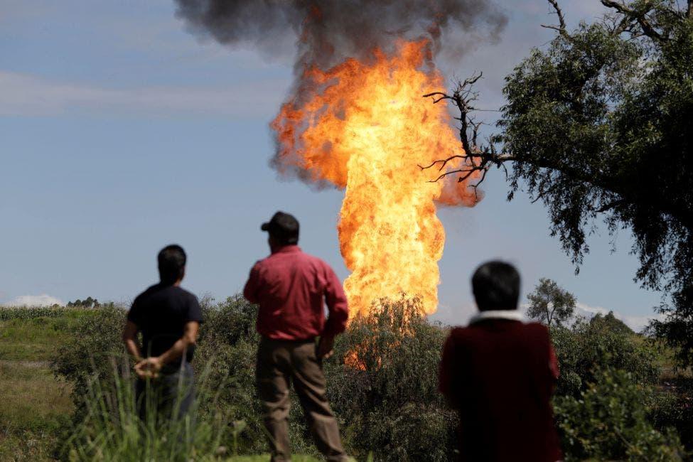 Huachicol de gas provoca estallido y seis heridos