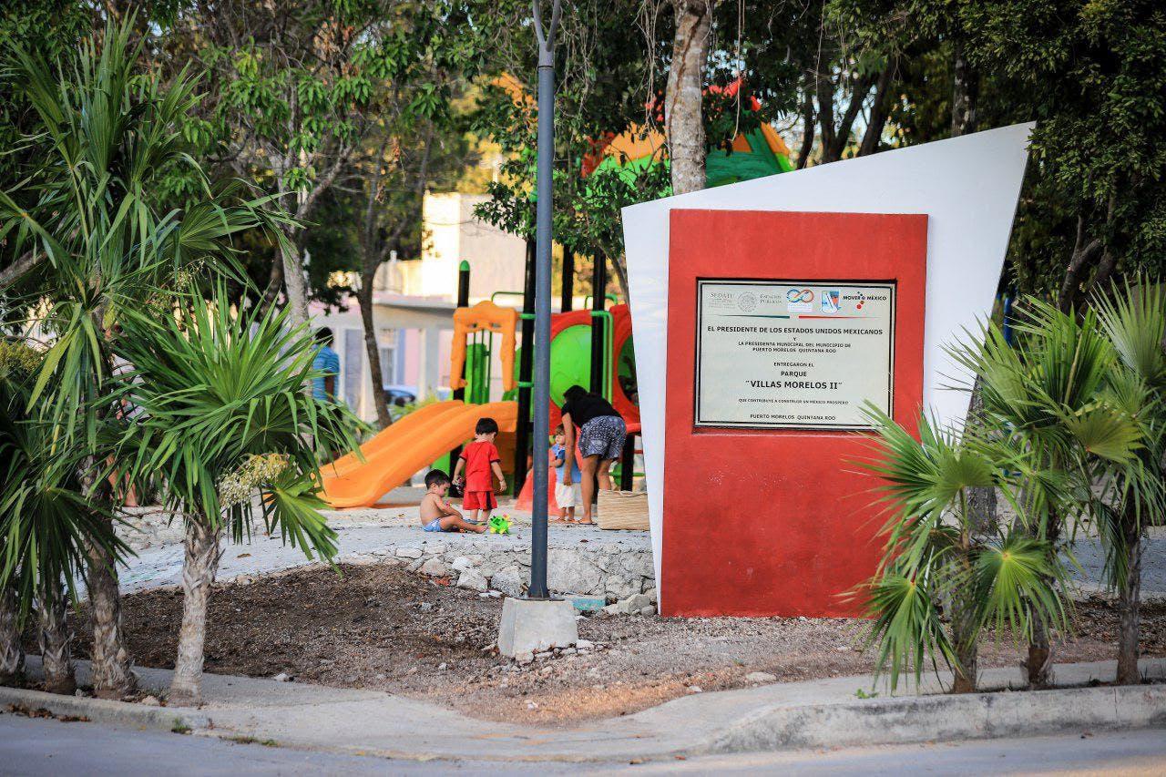 Puerto Morelos como el municipio que más avance ha registrado en este rubro