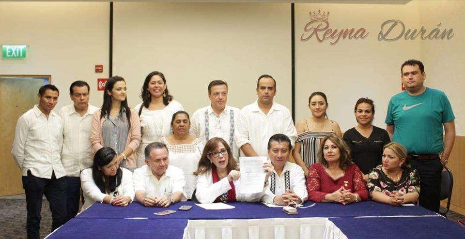 Agradece Reyna Durán ser la coordinadora de Morena