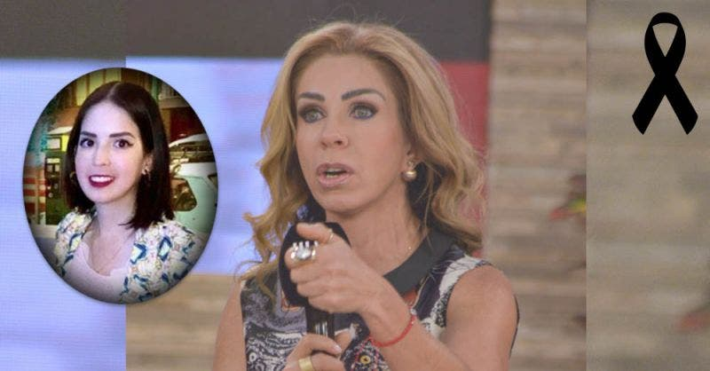 Muere la hija de Rocío Sánchez Azuara, conductora de Televisa