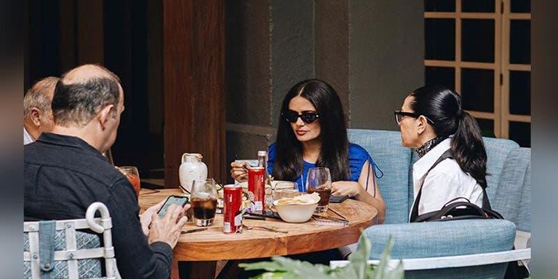 Salma Hayek está en México y come con ¡Yolanda Andrade!