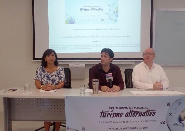 Anuncian la XVII edición del Seminario de Turismo y Sustentabilidad