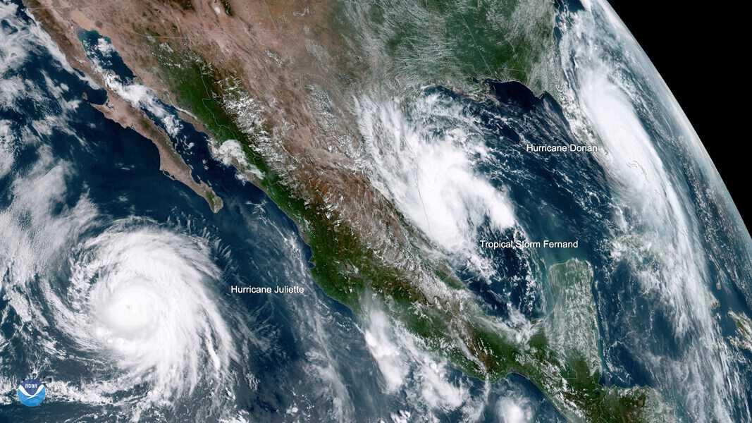 Tormenta tropical Fernand, llegará cargada de lluvia