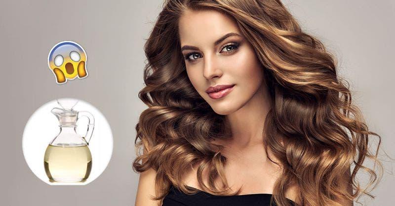 Vinagre blanco: Ingrediente que hará brillar tu cabello