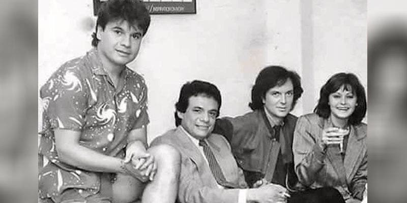 Juan Gabriel, José José, Camilo Sesto y Rocío Dúrcal.
