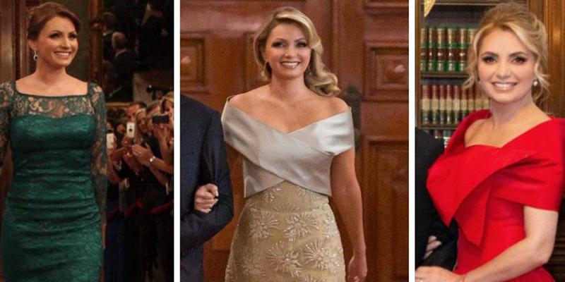 Los costosos vestidos que Angélica Rivera usó para el 15 de septiembre