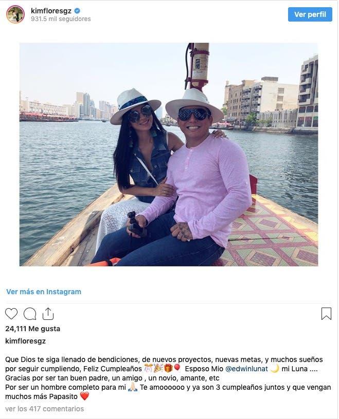 Kimberly Flores admite infidelidad en cumpleaños de Edwin Luna
