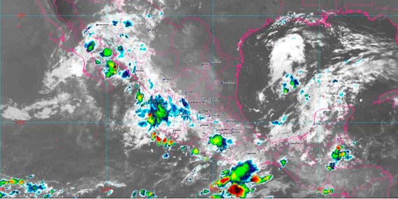 Pronóstico del clima: Fuertes lluvias para 23 estados de la República