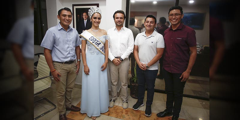 Atiende Pedro Joaquín actividades de la juventud cozumeleña