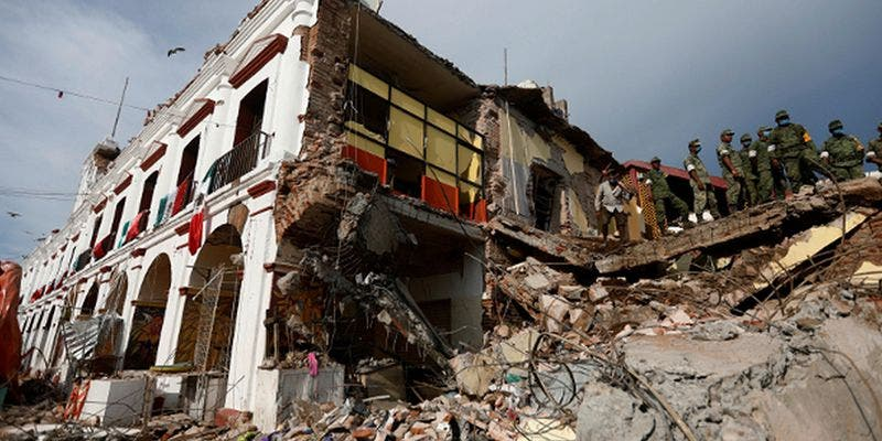 Dos años después revelan video inédito del sismo del 19S