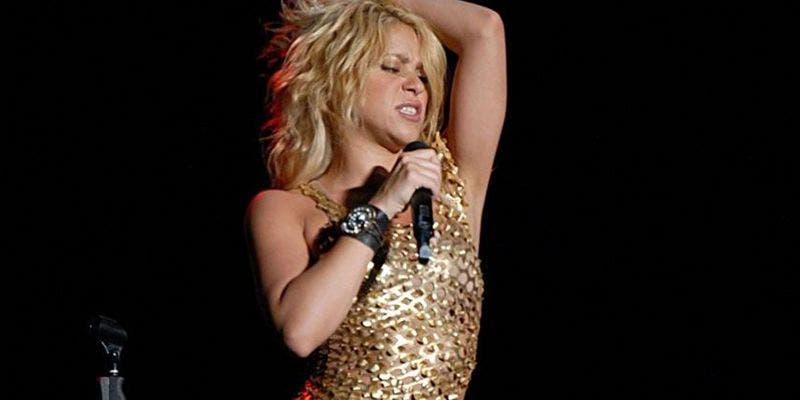 Filtran en redes sociales foto de Shakira sin ropa interior
