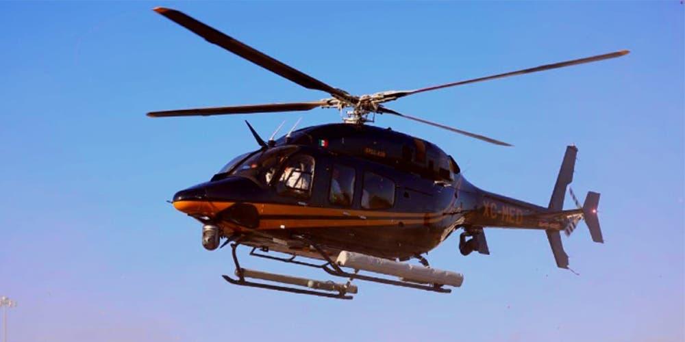Yucatán tiene el helicóptero de búsqueda y rescate más moderno de Latinoamérica