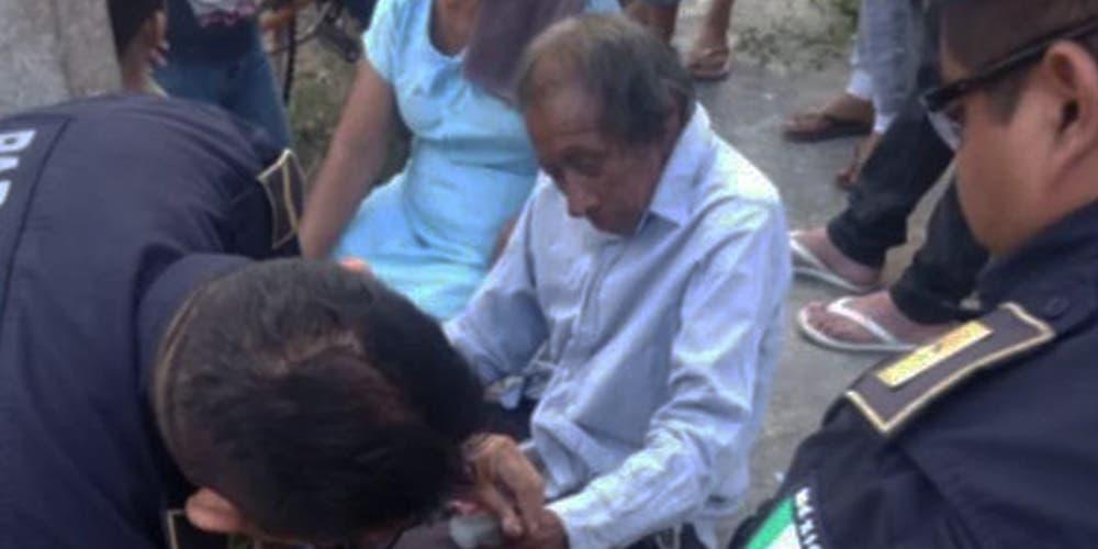 Abuelito de 86 años aparece luego de tres días perdido