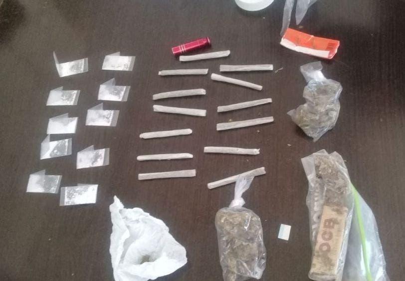 Decomisan cocaína y marihuana en Playa del Carmen.