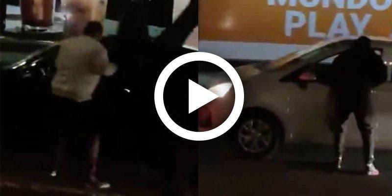 Video: Asaltan a automovilistas en Perisur de la CDMX.