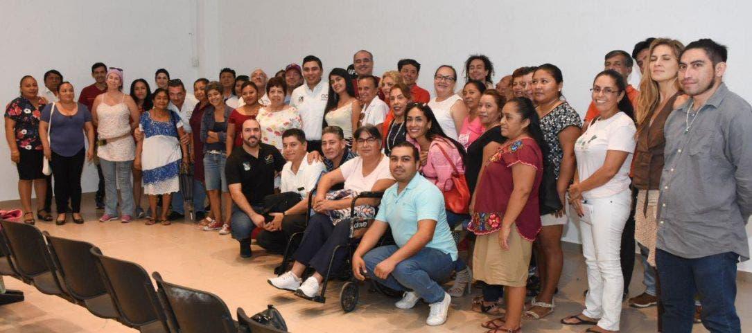 Un gran número de artesanos dd Puerto Morelos serán beneficiados con estas gestiones de la presidente Laura Fernández