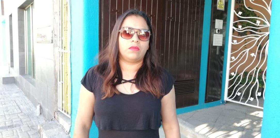La denunciante, Aruma Carbajal, se quejó de que su caso fue tirado al cesto de la basura por los agentes de la policía ministerial de la ínsula
