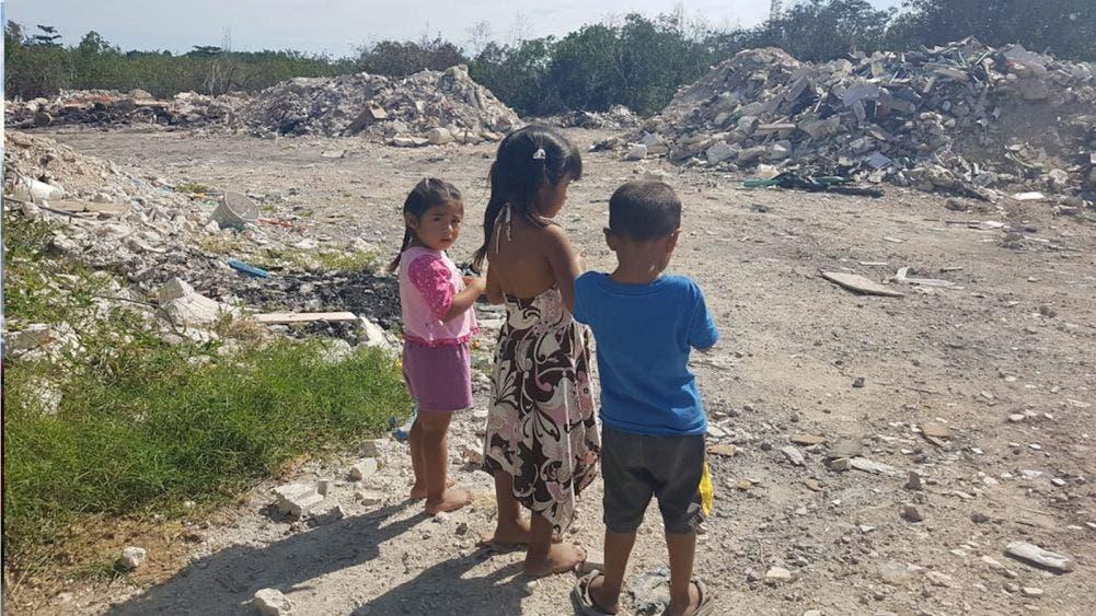 En riesgo habitantes de la Fortaleza por basurero clandestino