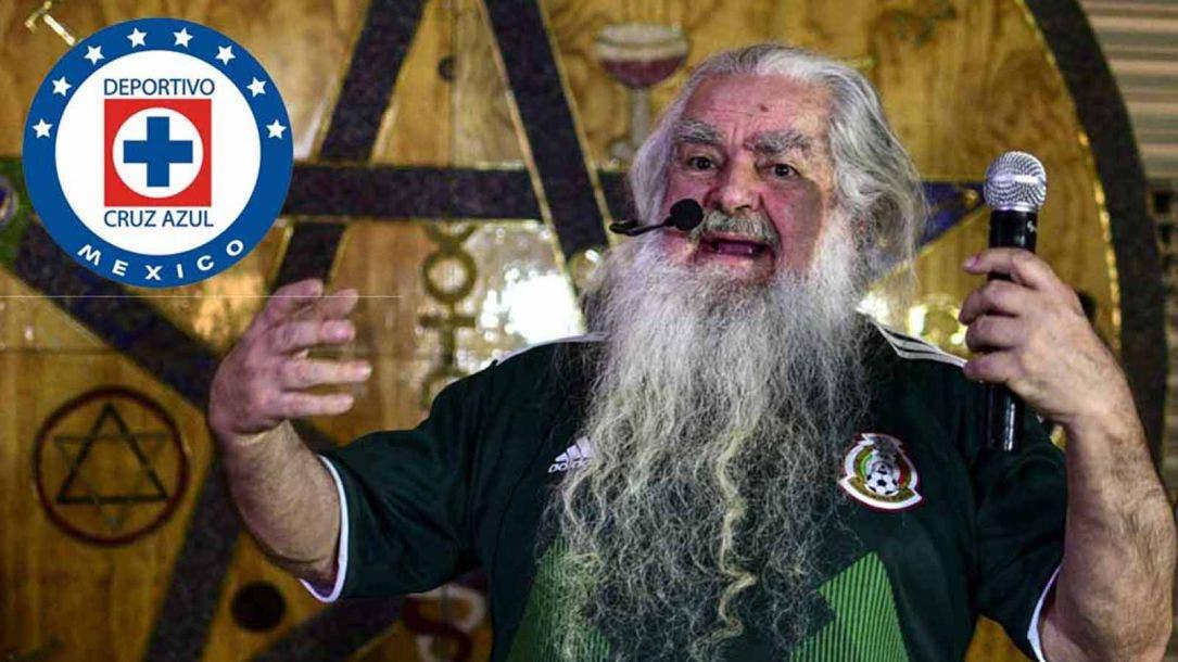 """Por """"embrujo"""" Cruz Azul jamás será campeón: Brujo Mayor"""