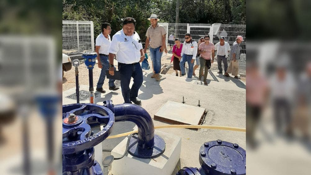 Entrega CAPA millonaria obra en Puerto Chiquilá