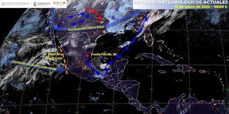Clima: Posibles lluvias aisladas para hoy en Q. Roo.