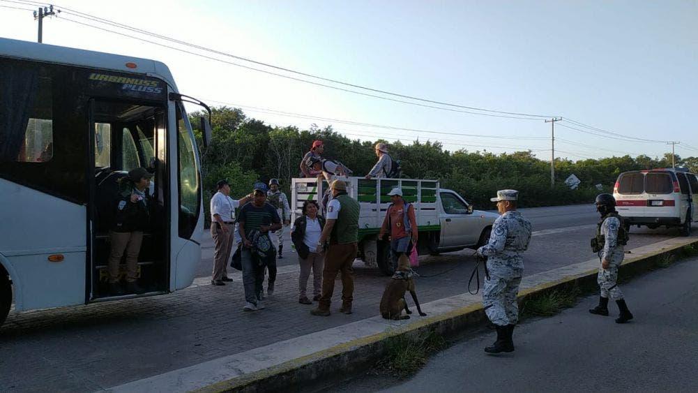 Realizan operativos contra trabajadores extranjeros ilegales en Cozumel.