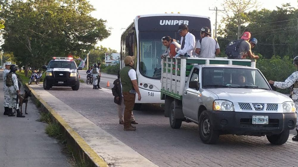 Este tipo de operativos se realiza con base en las denuncias constantes interpuestas por prestadores de servicios turísticos.