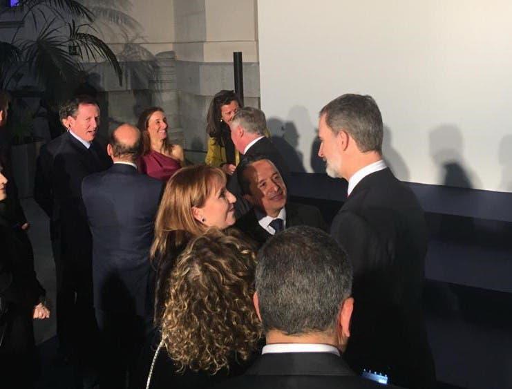 El gobernador Carlos Joaquín participó con el Rey de España Felipe VI en la cena de gala del 40 aniversario de la Feria Internacional de Turismo